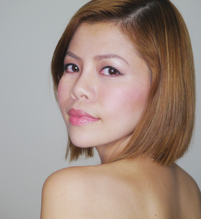 Crystal Phuong- natural make-up
