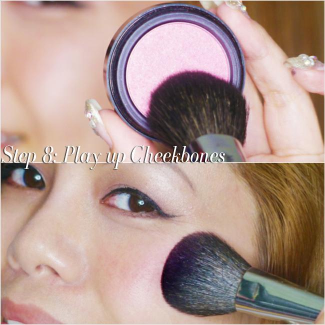 CrystalPhuong- natural makeup tutorial- blush