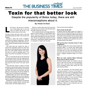 Toxin for that better look: Dr. Sylvia answered common Botulinum Toxin misconceptions
