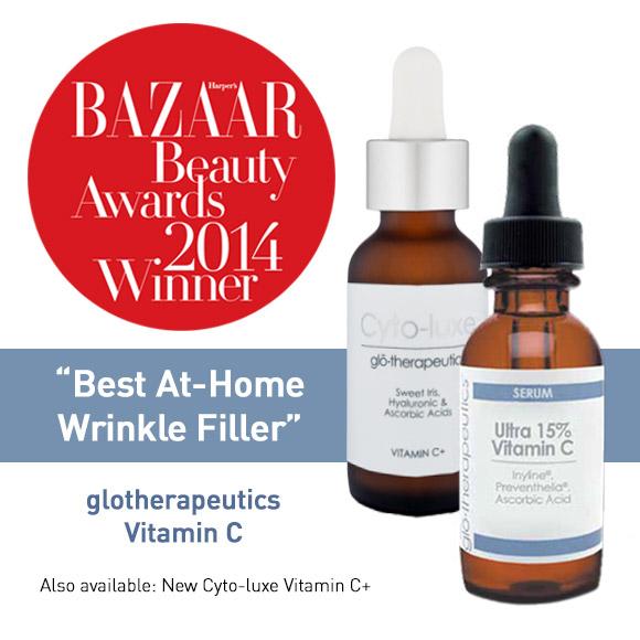 Best At-Home Wrinkle Filler: glotherapeutics Vitamin C Serum