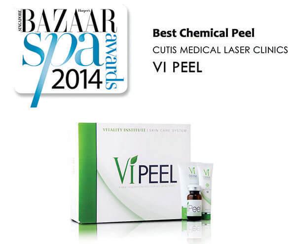 "VI Peel awarded as ""Best Chemical Peel"""