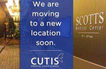 New Cutis Clinic Location Soon!