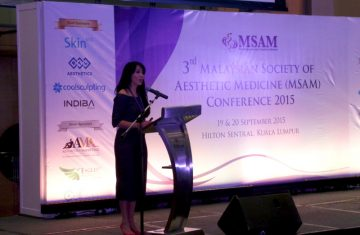 Dr Sylvia as Guest Speaker for the 3rd MSAM Conference 2015