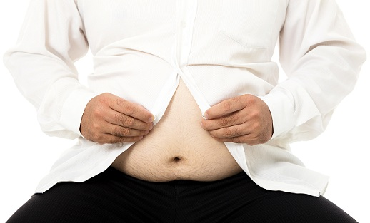 sagging skin in the belly
