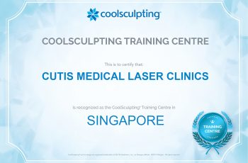 Cutis-CoolSculpting-Centre-of-Excellence-Certificate