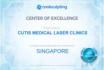 Cutis Named the CoolSculpting Training Centre in Singapore