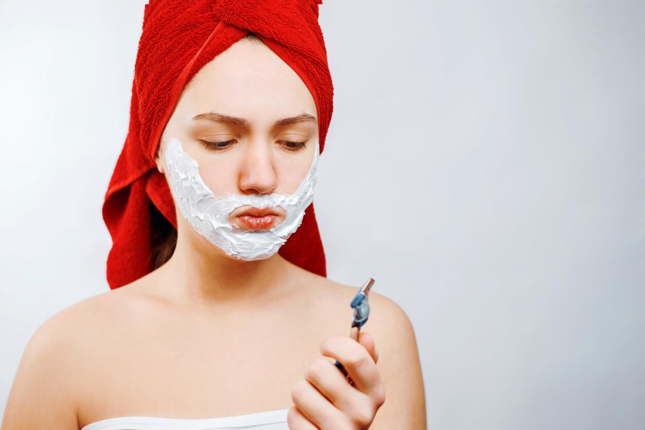 Excessive female facial hair — img 8