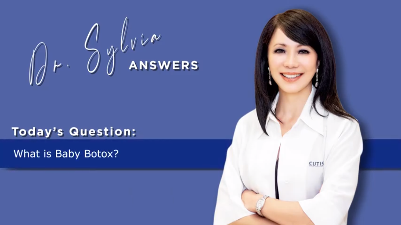 Dr. Sylvia Answers – What is Baby Botox and what is the Difference to Regular Botox?