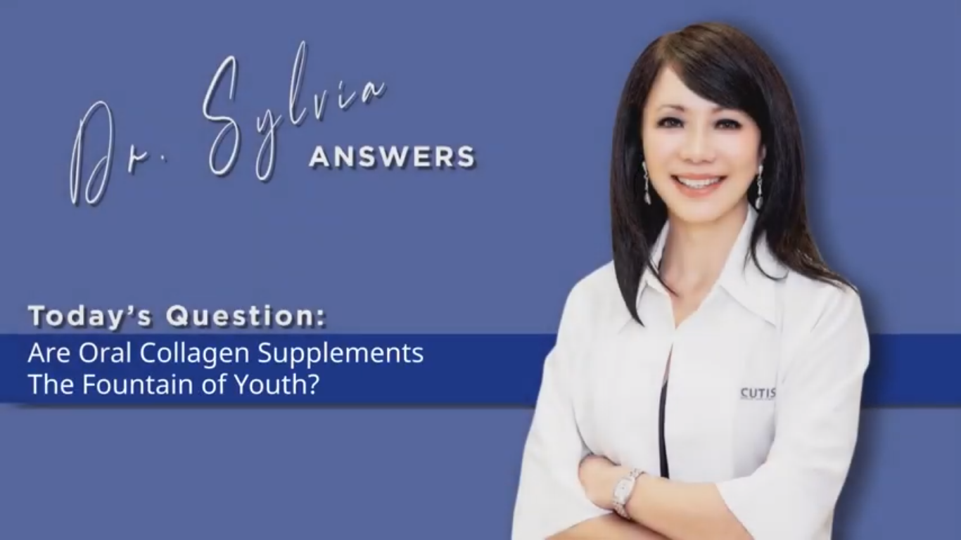 Dr. Sylvia Answers – Are Oral Collagen Supplements the Fountain of Youth?