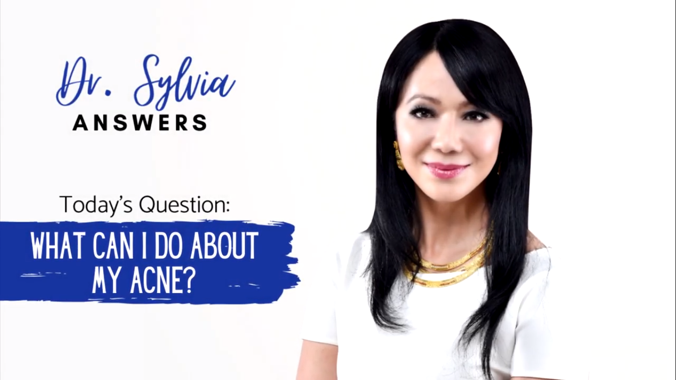 Dr. Sylvia Answers – What Can I Do About My Acne?