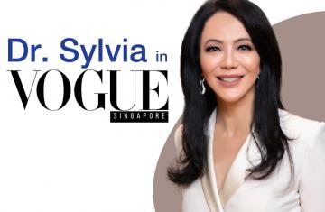 "Dr. Sylvia Shares Her ""Zoom Face"" Essentials with Vogue SG"